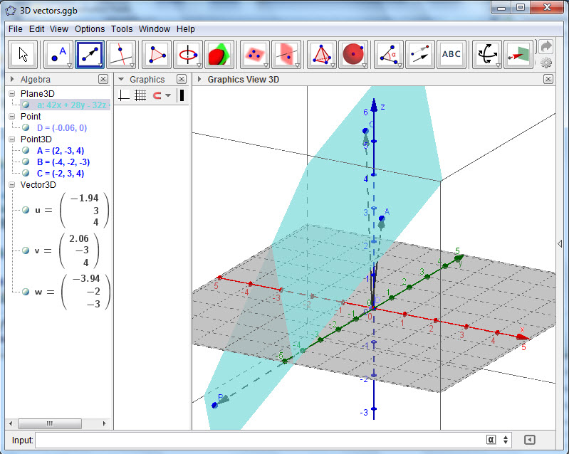 how to create 3d graphs on tinspire cas